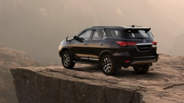 Ilustrasi Toyota Fortuner 2020
