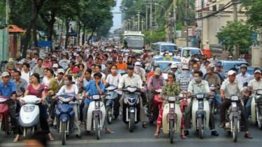 Pemotor di Vietnam