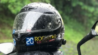 Helm basah