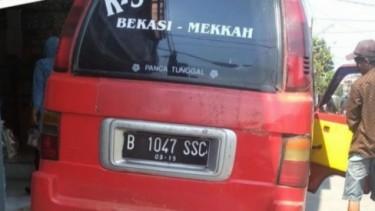 Angkot Unik di Bekasi