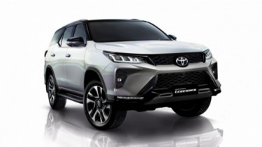 Toyota Fortuner varian baru
