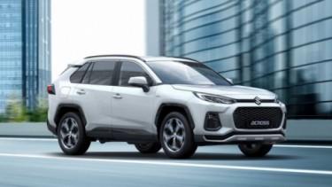 SUV Suzuki A-Cross hasil kawin silang dengan Toyota