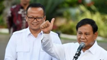 Edhy Prabowo bersama Prabowo Subianto
