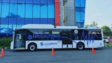 Bus Transjakarta listrik