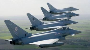 Jet tempur Eurofighter Typhoon yang ingin diboyong Prabowo