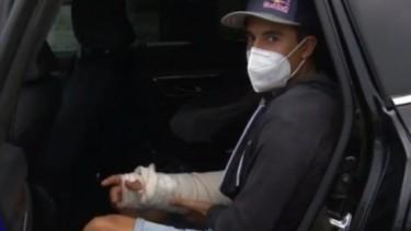 Marc Marquez cedera