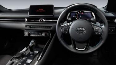 Interior Toyota Supra GR baru