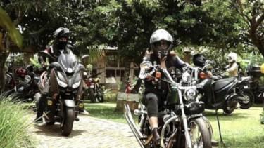 Ketua MPR RI Bambang Soesatyo mengajak komunitas Lady Bikers