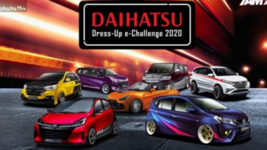 Daihatsu Dress Up e-Challenge 2020.