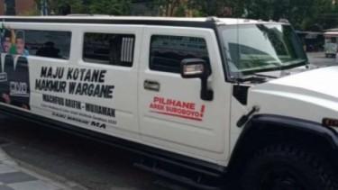 Hummer H2 Limousine Kampanye