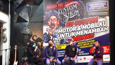 Preskon Road to Indonesia Custom Show (ICS)