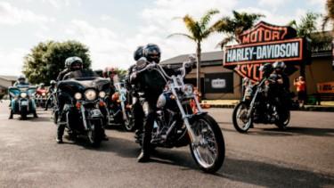Pengguna motor Harley-Davidson