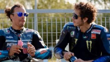 Franco Morbidelli dan Valentino Rossi
