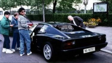 Maradona dan Ferrari Hitam