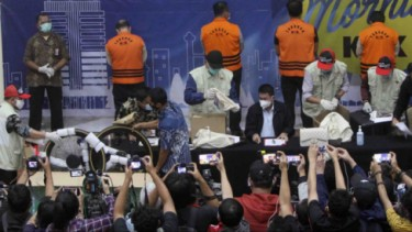 Sejumlah barang mewah sitaan KPK dari OTT Edhy Prabowo