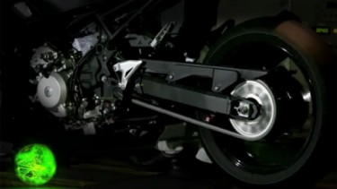 Motor hybrid Kawasaki