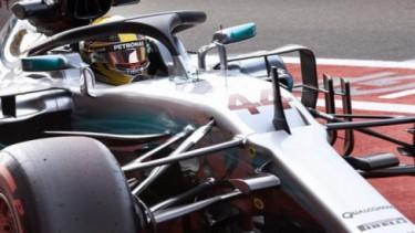 Halo sebagai pelindung kokpit mobil F1