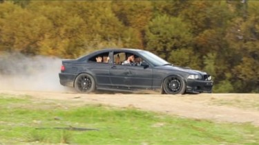 Selebgram Ryan Taylor hancurkan BMW