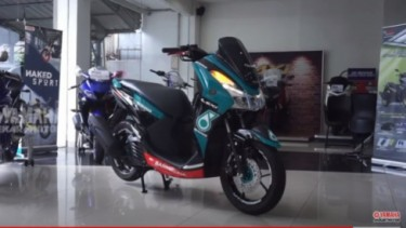 Yamaha Livery Petronas
