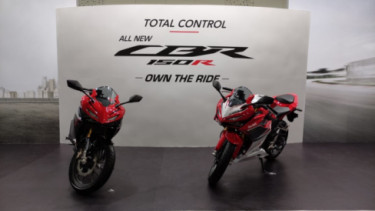 All New Honda CBR150R. Foto: Farhan/100KPJ.com