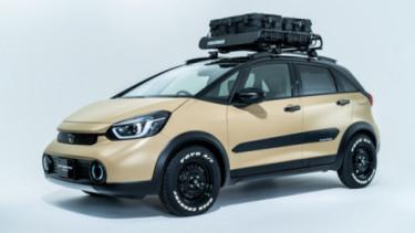 Modifikasi Honda Jazz hybrid (Fit e:HEV Crosstar)