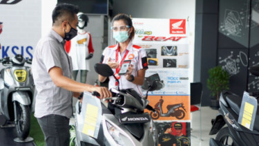 Promo dan diskon motor Honda di awal 2021