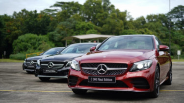 Mercedes-Benz C-Class Final Edition. Foto: PT MBDI.