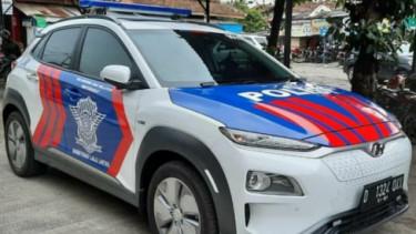 Mobil Patwal Hyundai Kona Electric