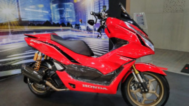 Modifikasi Honda PCX 160