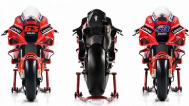Motor Ducati di ajang MotoGP 2021