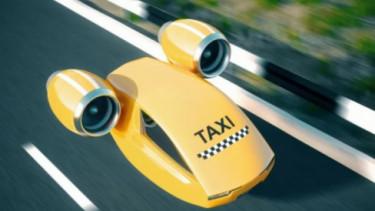 Ilustrasi Taksi Terbang. Foto: Reuters.