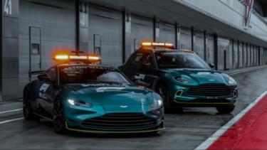 Aston Martin jadi mobil keselamatan dan medis di F1 2021