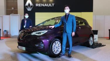 Renault Zoe hadir di IIMS 2021