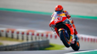 Marc Marquez di MotoGP Portugal. Foto: GPone.