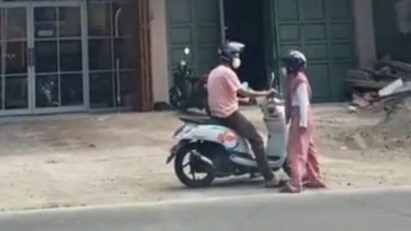 Honda Scoopy viral