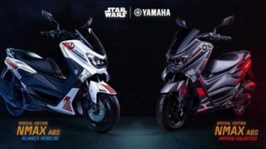 Yamaha NMax edisi Star Wars. Foto: Visordown.