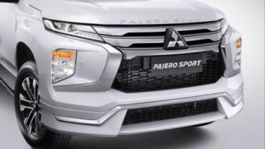 Body kit Mitsubishi Pajero Sport baru