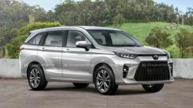 Desain digital Toyota Avanza baru