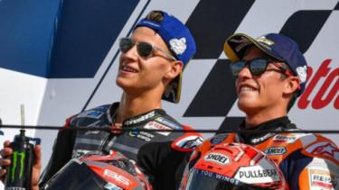 Marc Marquez dan Fabio Quartararo.