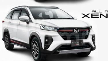 All New Daihatsu Xenia (desain digital)