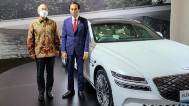 Mobil listrik Genesis G8 jadi kendaraan resmi di KTT G20 Bali