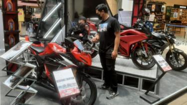 Pameran motor Honda banyak promo