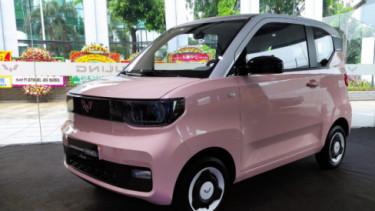Wuling Hongguang Mini EV. Foto: VIVA/Farhan Nurhuda.